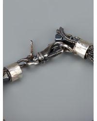 Emanuele Bicocchi | Metallic Gem Bracelet | Lyst