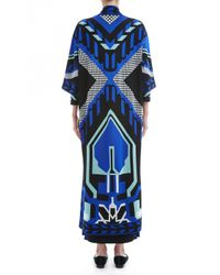 Temperley London - Blue Long Brooke Coat - Lyst