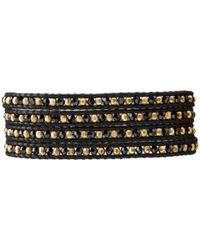 Chan Luu - 32 Jetnatural Black Wrap Bracelet - Lyst
