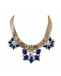Ziba - Metallic Teresia Statement Necklace - Lyst