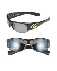 Kaenon | Black 'hard Kore' 63mm Polarized Sunglasses for Men | Lyst