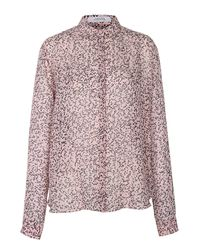 Dorothee Schumacher | Pink Sheer Chaos Blouse 1/1 | Lyst