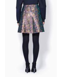 3.1 Phillip Lim - Multicolor Single Pleat A-Line Mini Skirt - Lyst