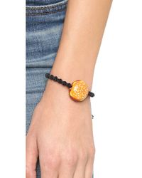 Venessa Arizaga | Cheeseburger Bracelet - Black Multi | Lyst