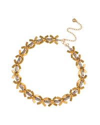 Alice Menter | Metallic Kelly Necklace | Lyst