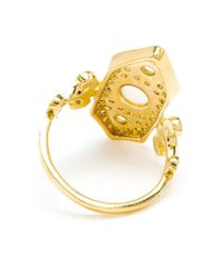 Sabine G | Metallic 'Calixte' Ring | Lyst