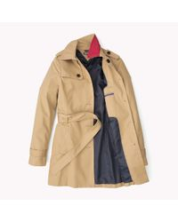 Tommy Hilfiger | Natural Cotton Heritage Trench Coat | Lyst
