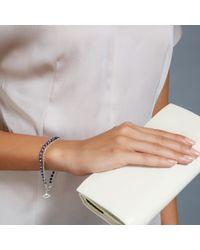 Biography - Blue Lapis Evil Eye Bracelet - Lyst