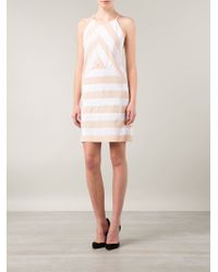 KENZO | Natural Striped Dress | Lyst