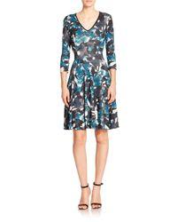 Erdem - Blue Moorea Sheath Dress - Lyst