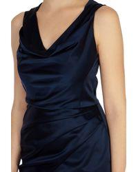 Coast - Blue Osanna Duchess Satin Dress - Lyst