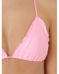 Triangle Bikini Ruffled