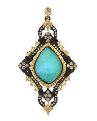 Armenta | Blue Turquoise Cravelli Scroll Enhancer | Lyst