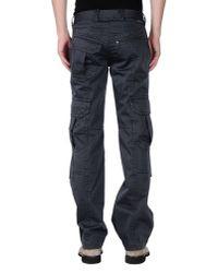 Calvin Klein Jeans - Gray Casual Trouser for Men - Lyst