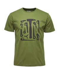Black Diamond - Green Big Wall Tool T-shirt - Short-sleeve for Men - Lyst