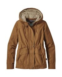 Patagonia - Brown Prairie Dawn Jacket for Men - Lyst