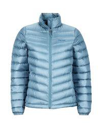 Marmot | Blue Jena Down Jacket | Lyst