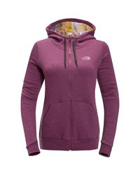 50c4a281e The North Face Renan Full-zip Hoodie in Purple - Lyst