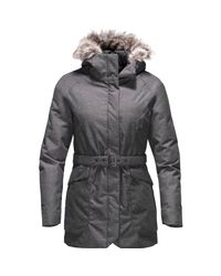 The North Face - Gray Caysen Parka - Lyst