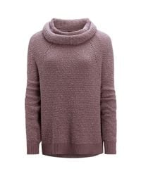 Free People - Purple By Your Side Sweater - Lyst