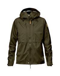 Fjallraven   Green Keb Eco-shell Jacket for Men   Lyst