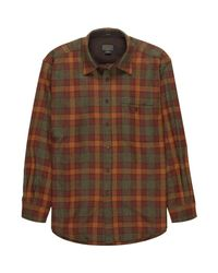 Pendleton - Brown Trail Shirt for Men - Lyst