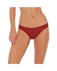 L*Space - Red Veronica Bikini Bottom - Lyst