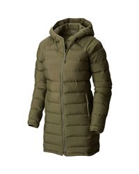 Mountain Hardwear - Green Thermacity Insulated Parka - Lyst