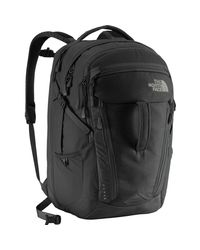 The North Face - Black Surge Backpack - Lyst