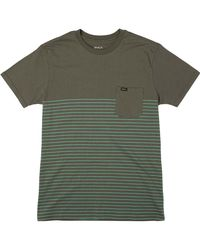 RVCA - Green Switch Up T-shirt for Men - Lyst