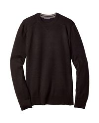 Smartwool - Black Kiva Ridge Crew Sweater for Men - Lyst