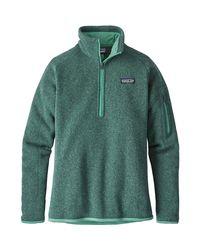 Patagonia - Green Better Sweater 1/4-zip Fleece Jacket - Lyst