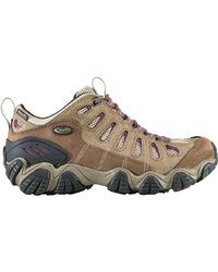 Oboz - Purple Sawtooth Low B-dry Hiking Shoe - Lyst