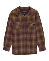 Pendleton - Brown Classic Board Shirt for Men - Lyst