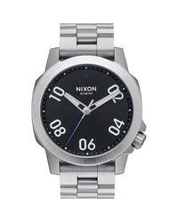 Nixon - Black Ranger 40 Watch for Men - Lyst