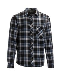 Tentree - Black Fergus Flannel Shirt for Men - Lyst