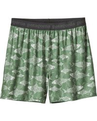 Patagonia | Green Capilene Daily Boxers for Men | Lyst