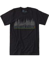 Hippy Tree Black Woodside T-shirt for men