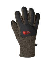 The North Face - Gray Denali Etip Glove - Lyst