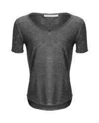 Project Social T - Gray Suzie Shirttail T-shirt - Lyst