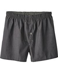 Patagonia - Gray Go-to Boxer for Men - Lyst