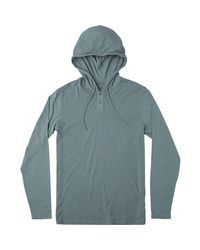 RVCA Blue Pick Up Hoodie for men