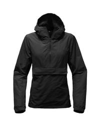 The North Face - Black Crew Run Wind Anorak Jacket - Lyst