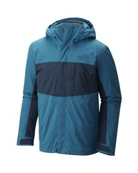 Mountain Hardwear | Blue Binx Ridge Quadfecta 3-in-1 Jacket for Men | Lyst
