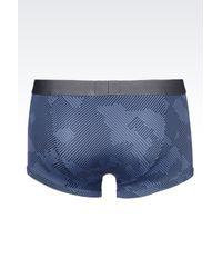 Emporio Armani | Gray Boxers for Men | Lyst