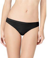 Calvin Klein | Black Seamless Ombre Bikini Cut Panty | Lyst