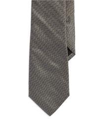 Strellson - Gray Silk Textured Tie for Men - Lyst