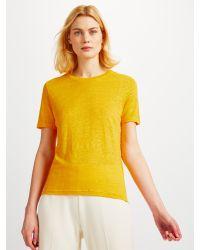 Samsøe & Samsøe - Yellow Agnes Knitted Top - Lyst
