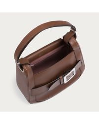 Bally - Brown Bell Belted Medium - Lyst