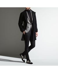 Bally - Black Fine Knit Roll Neck Sweater for Men - Lyst
